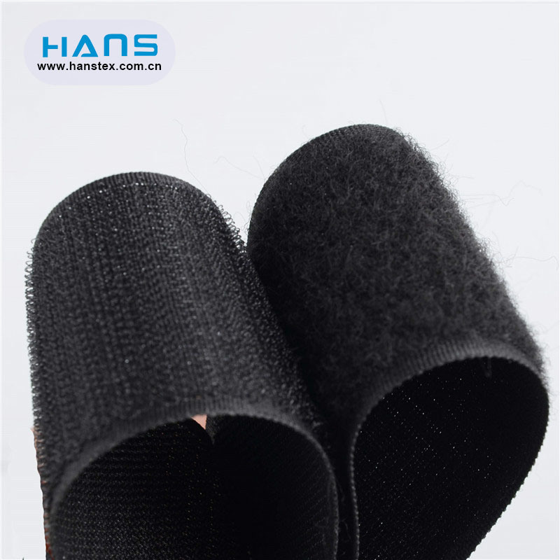Hans Amazon Top Seller Solid Color Hook and Loop Tape