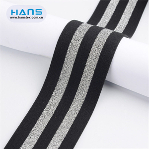 Hans Best Selling High Grade Elastic Rubber Tape for Swimwear