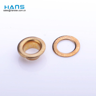 Hans Gold Supplier Dry Cleaning Metal Shoe Lace Hooks