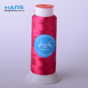 Hans Factory Hot Sales High Strength Royal Embroidery Thread