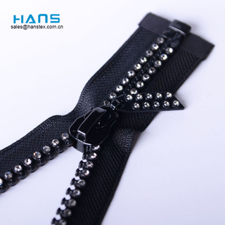 Hans Eco Friendly Eco Friendly Diamond Zipper