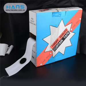 Hans Best Selling Eyelet Curtain Tape with Rings