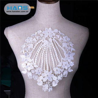 Hans Eco Custom Made Nice Design Lace Patch