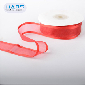 Hans Accept Custom Fancy Silk Ribbon