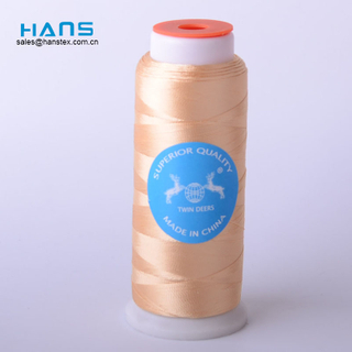 Hans Cheap Wholesale Dyed Reflective Embroidery Thread