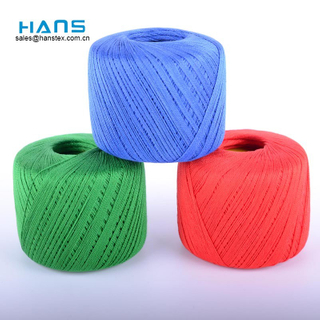 Hans Cheap Price Colorful Crochet Cotton Thread