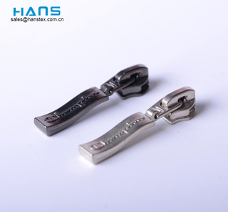 Hans Free Sample Factory Price Zinc Alloy Zipper Slider