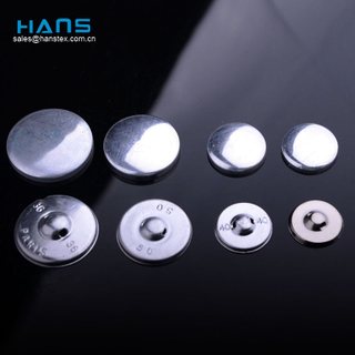 Hans Manufacturers in China Dry Cleaning Fabric Covered Button