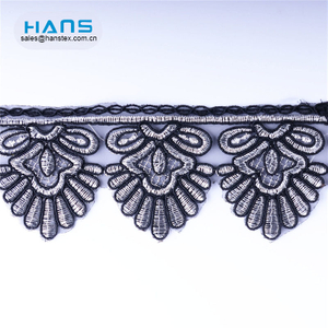 Hans Amazon Top Seller Eco-Friendly Austrian Embroidery Designs Flower Lace