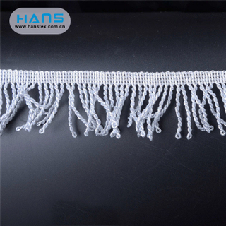 Hans New Well Designed Colorful Fringe Trim