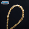 Hans Cheap Gold Decorative Curtain Braided Twisted Cross Rope