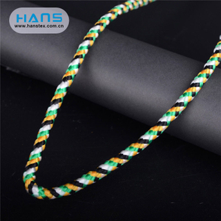 Hans Cheap Promotional Wholesale Soft Flat Nylon Rope