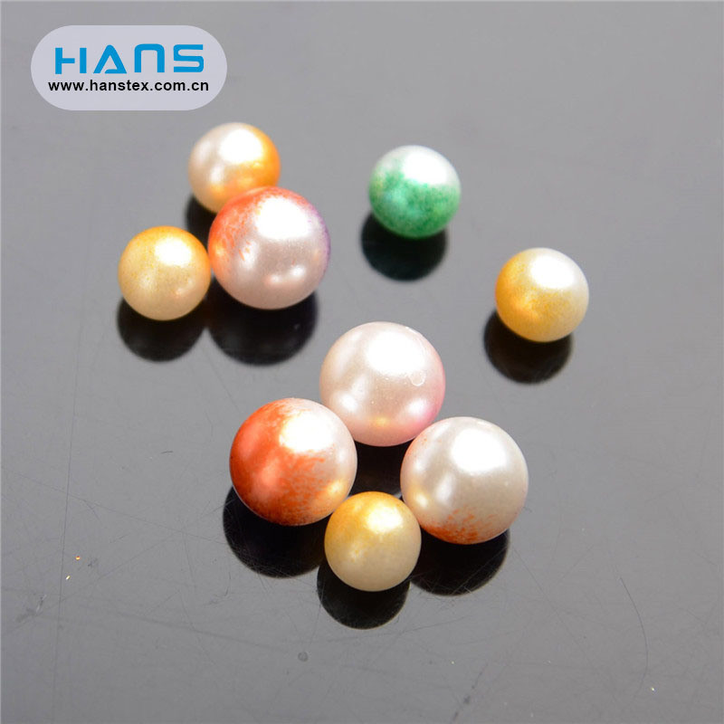 Hans Cheap Wholesale Decorations Clear Acrylic Beads