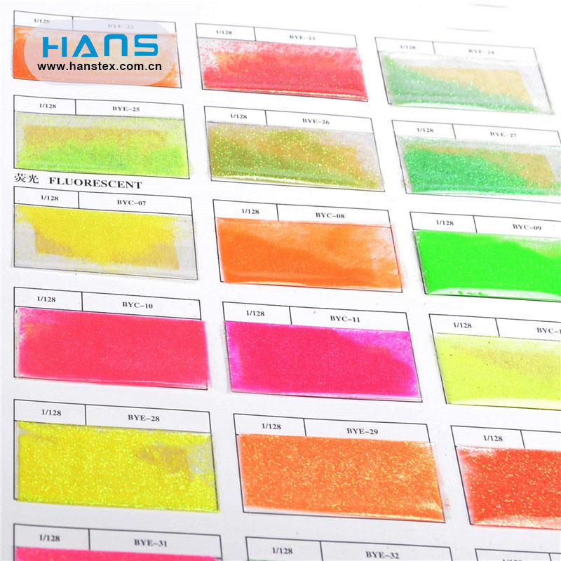 Hans Factory Wholesale Multi Size Fine Glitter Powder Bulk
