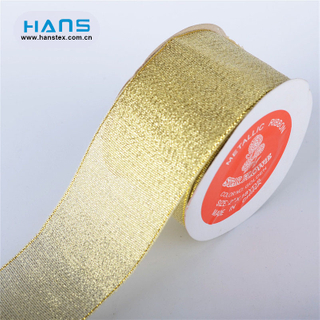 Hans Amazon Top Seller Color Gold Ribbon
