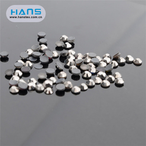 Hans Factory Directly Sell Smooth Nail Rhinestone