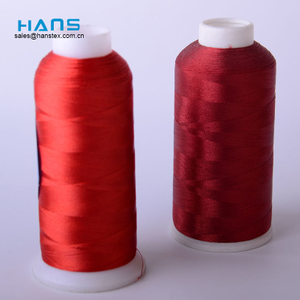 Hans High Quality OEM Durable Silk Embroidery Thread