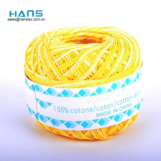 Hans Factory Prices Mixed Colors 100% Cotton Thread