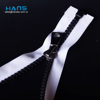 Hans Wholesale China High Strength Bag Zipper Plastic