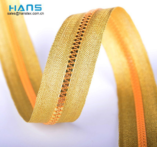 Hans Fast Delivery Promotional Long Chain Zipper