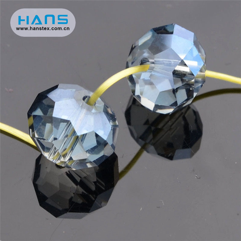 Hans Factory Wholesale Transparent Color Beads Crystal Beads