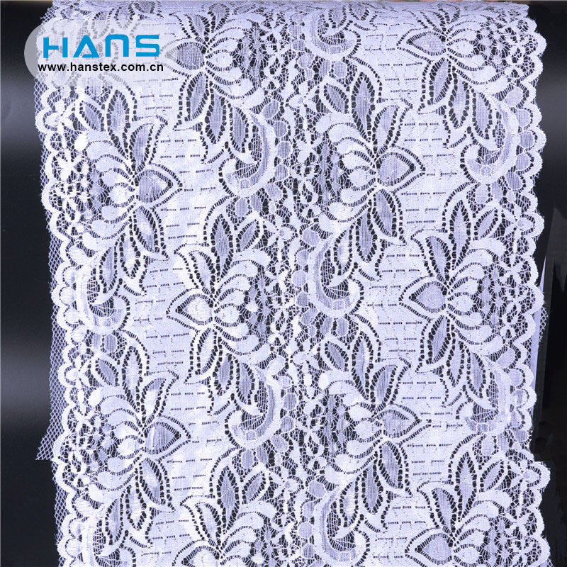 Hans Top Grade Fancy Wholesale Stretch Lace Fabric