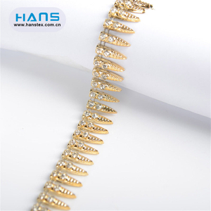 Hans Made in China Hole Rhinestone Belt