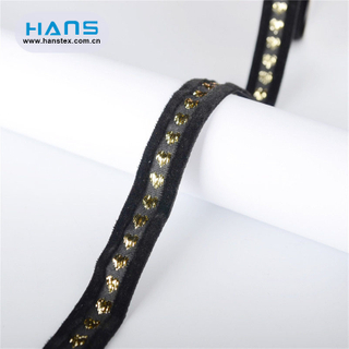 Hans Amazon Top Seller Fancy Double Sided Velvet Ribbon