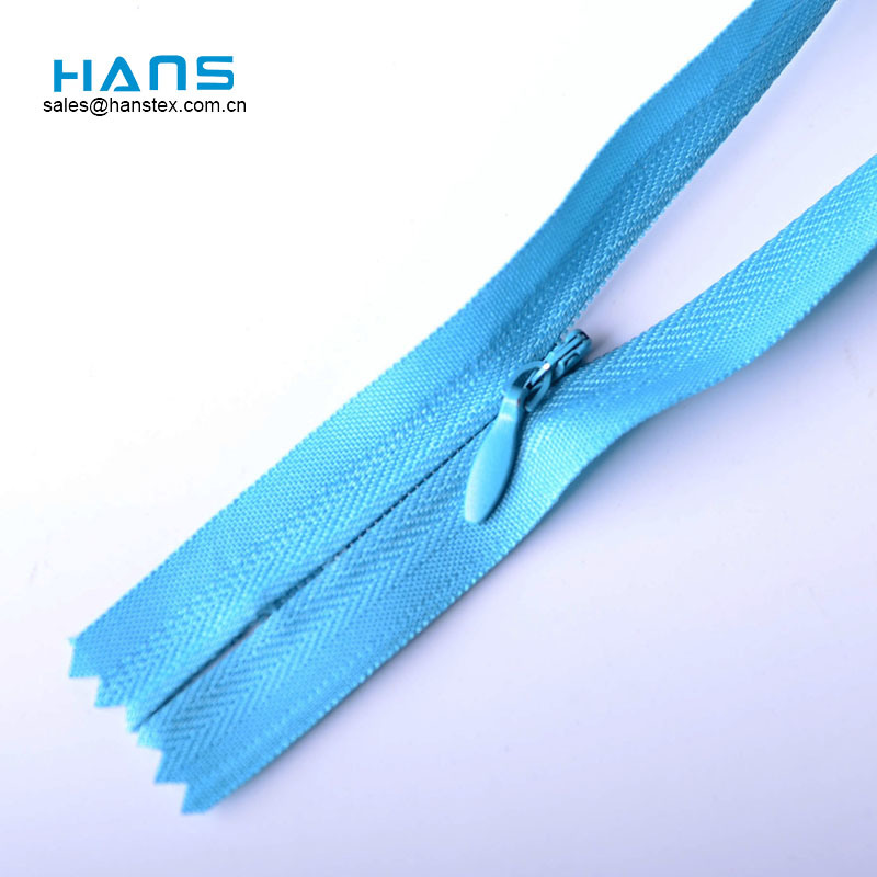 Hans Cheap Price Strong Nylon 3# Invisible Zipper