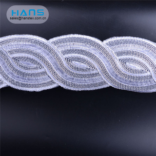 Hans Factory Manufacturer Colorful Lace Embroidery