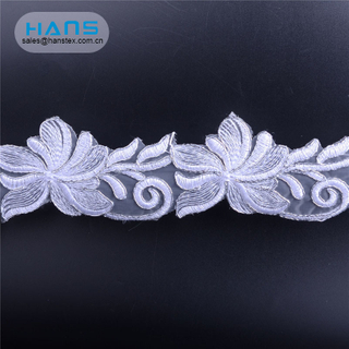 Hans Custom Manufactured Yards Sequence Lace