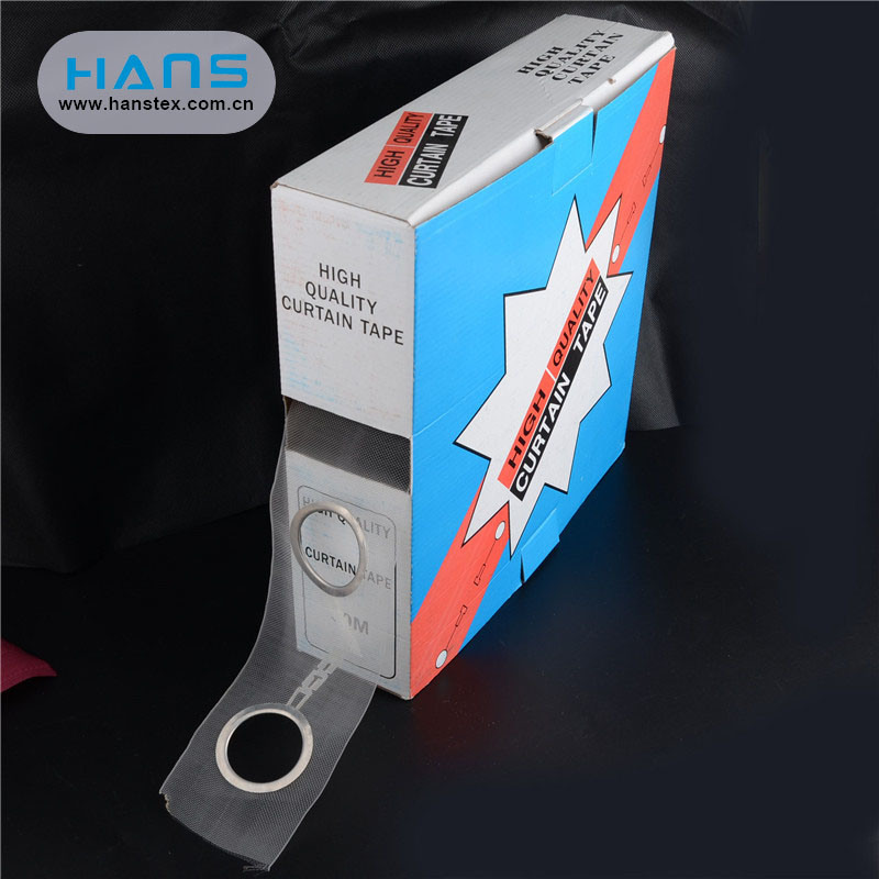 Hans Chinese Supplier Transparent Curtain Tape