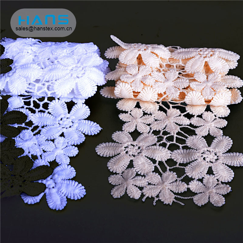Hans Chinese Supplier Nice Design Latest French Lace
