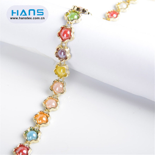 Hans High Quality Shining Rhinestone Chain Roll
