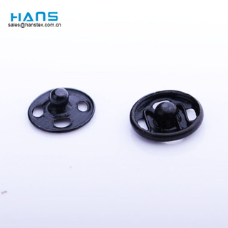 Hans Chinese Supplier Sewing Colorful Metal Press Stud Buttons
