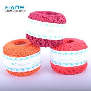 Hans Most Popular Colorful Cotton Embroidery Thread