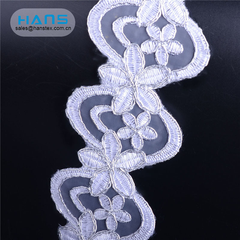 Hans Made in China Fancy Lace Manufacture