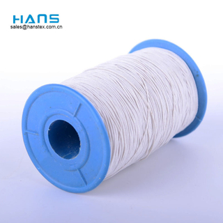 Hans China Factory Good Color Fastness Elastic Rubber Thread