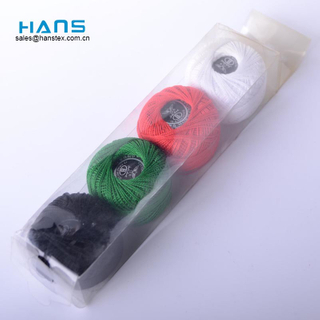 Hans China Manufacturer Wholesale Multicolor Cross Stitch Thread