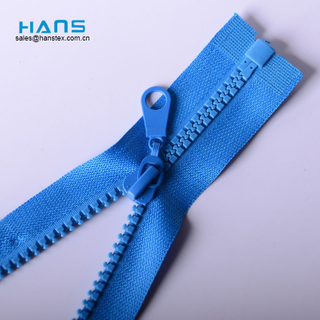 Hans Free Design Washable Size 5 Plastic Zipper