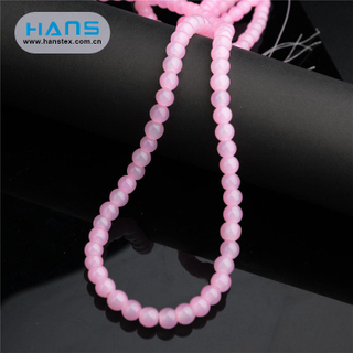 Hans Factory Price Colorful Cheap Crystal Beads