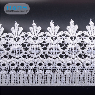 Hans Manufacturer OEM Colorful Lace Fabric for Curtains