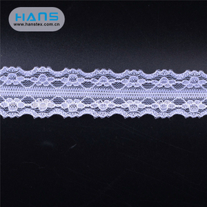 Hans Custom Manufactured Garment Accessories Diamond Lace Fabric
