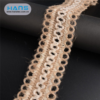Hans Chinese Supplier Colorful Ribbon Jute