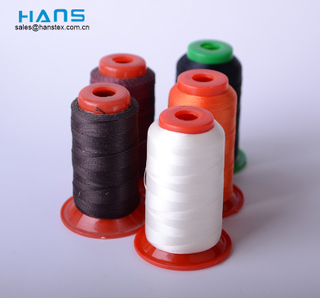 Hans Eco Friendly Good Color Fastness Bonded Nylon Thread