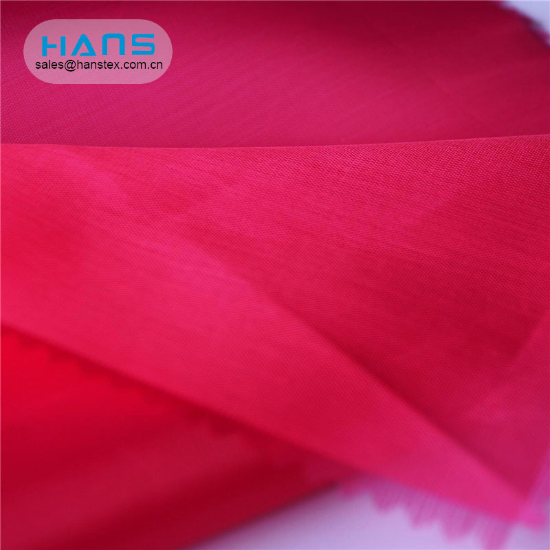 Hans Cheap Wholesaler Breathable Moire Poly 190t Taffeta