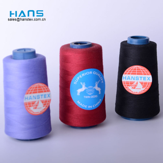 Hans Made in China Strong Manufacturer Industrial Sewing Thread